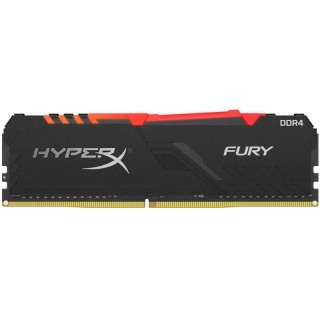 16GB DDR4-3000 Kingston HyperX® FURY RGB CL16