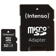 Intenso® 32GB microSD + SD Adapter Class10 UHS-I Premium