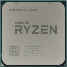 AMD Ryzen 5 1600 12nm Socket AM4, Tray